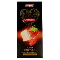 Chocolate Blanco Con Fresas Sin Azúcar