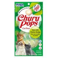 Churu Pops Tuna-Chicken Cat Treat