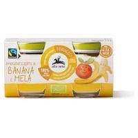 Omogeneizzato banana mela Baby Food Bio