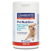 Pet Nutrition Multivitaminas y minerales para perros