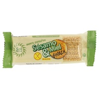 Barrita de Sésamo e Mel sem gluten