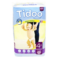 Maxi + Night & Day (T4 +) diapers 9-20kg
