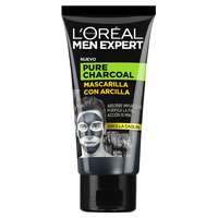 Men Expert Mascarilla Arcilla z czystym węglem