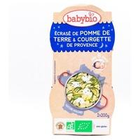 Bonne Nuit Pomme de terre Courgette de Provence Parmesan