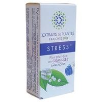 Extractos de plantas frescas Estrés