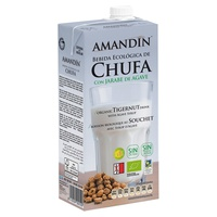 Horchata de Chufa con Jarabe de Agave Bio