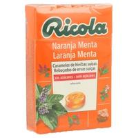 Caramelos de Naranaja y Menta sin Azúcar