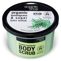Organic Provence Lemongrass and Sugar Body Scrub