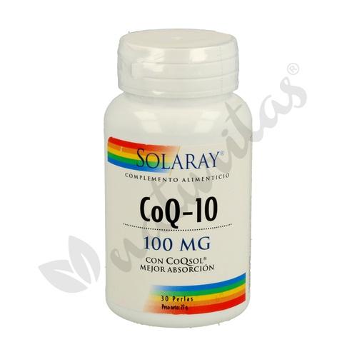 CoQ10 Coenzima Pure 30 cápsulas de 100 mg de Solaray - Kal