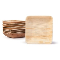 Square Palm Leaf Bowl