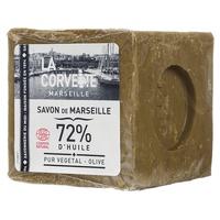 Cubo de jabón de oliva de Marsella