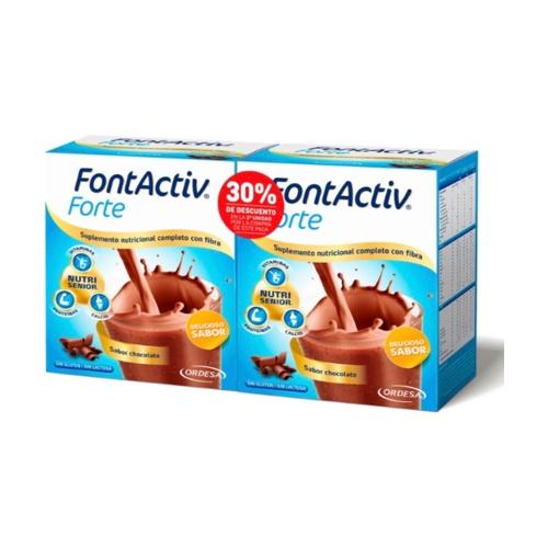 Pack Duplo FontActiv Forte Chocolate