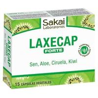 Laxecap Forte. 15 cápsulas vegetales de Sakai