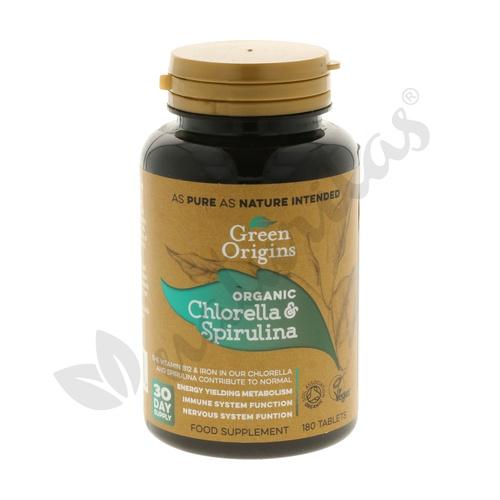Chlorella & Spirulina Superfood Organic
