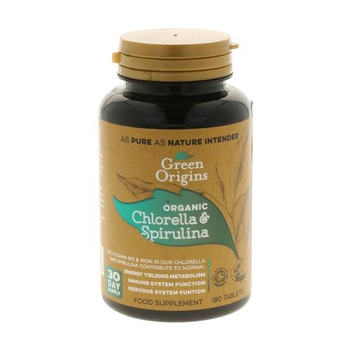 Chlorella & Spirulina Organic