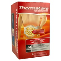 Parches térmicos terapéuticos para zona lumbar y cadera
