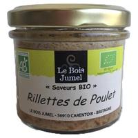 Rillettes de Poulet Rôti (sans porc) bio