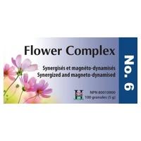 Flower Complex Nº 6 Inquietud