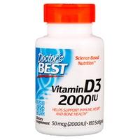 Vitamine D3, 2000 UI