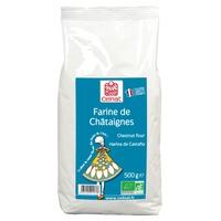 Harina De Castañas Bio  500 Gr de Celnat