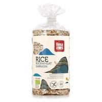 Tortitas de arroz y trigo sarraceno Bio