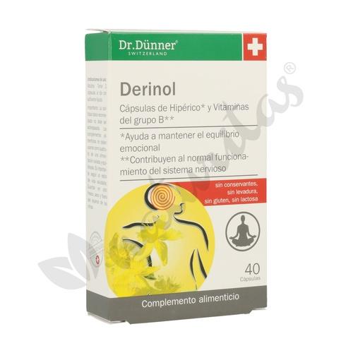 Derinol Dr.Dunner 40 cápsulas de Salus