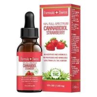 Strawberry Flavored CBD Oil in Oil MCT 1500 (<0.2% THC)