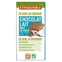 Milk Chocolate and Organic Coconut