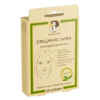 Organic Facial Wax Strips Depilate