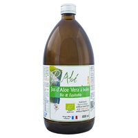 Organic pasteurized Aloe vera juice to drink - 1 liter