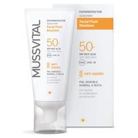 Fotoprotector Facial Fluid Emulsión 50+