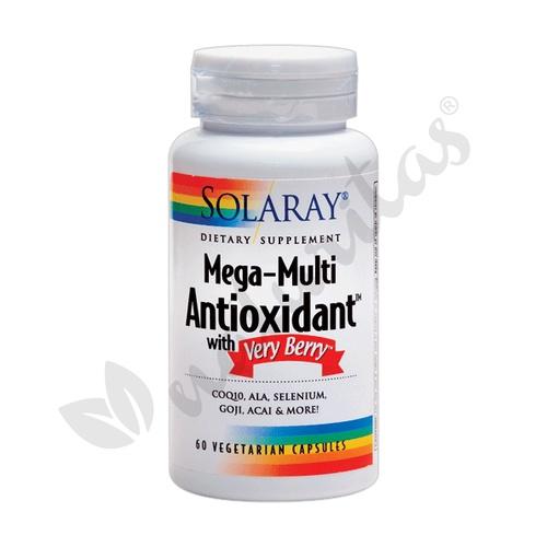 Antioxidante Mega Multi 60 cápsulas de Solaray - Kal
