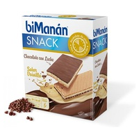 Snack chocolate con leche sabor vainilla
