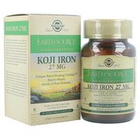 Earth Source Food Fermenté Koji Fer (fer fermenté) 27 mg
