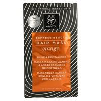 Połysk i witalność maseczka do włosów z pomarańczą i miodem