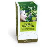 Opróżnianie herbaty ziołowej