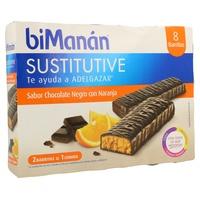 Barrita Sustitutiva de Chocolate y Naranja
