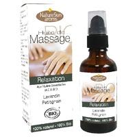 Aceite de masaje de relajación Bio
