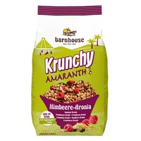 Krunchy amaranth - amaranth granola with raspberries and chokeberry