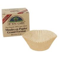 Moldes de papel não branqueados e 100% livres de cloro