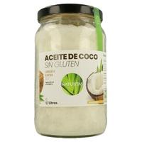Huile de noix de coco biologique sans gluten