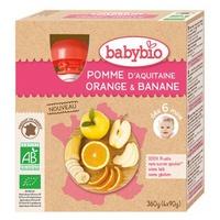 Bottiglia Biologica Mela Arancia Banana (da 6 mesi)