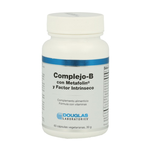 Complejo-B Metafolin y Factor Intrínseco