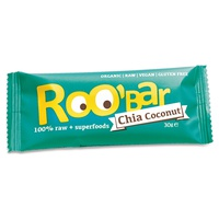 100% Roh- und Kokosriegel