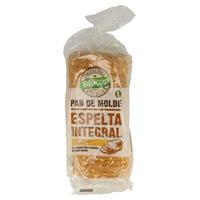 Pan de molde de espelta integral y avena