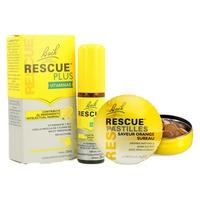 Rescue plus vitamin spray + scatola regalo in metallo Rescue Candy