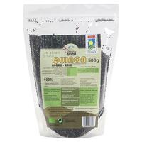 Black Quinoa Grains