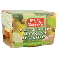 Compota de Manzana y Melocoton Bio