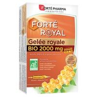 Forté Royal Organic Royal Jelly 2000 mg