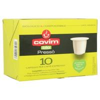 Café Espresso Bio y Compostable 100% Arábica